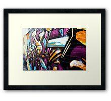 graffiti central Framed Print