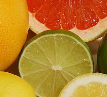 Citrus Fruit Still Life by rwmilnes