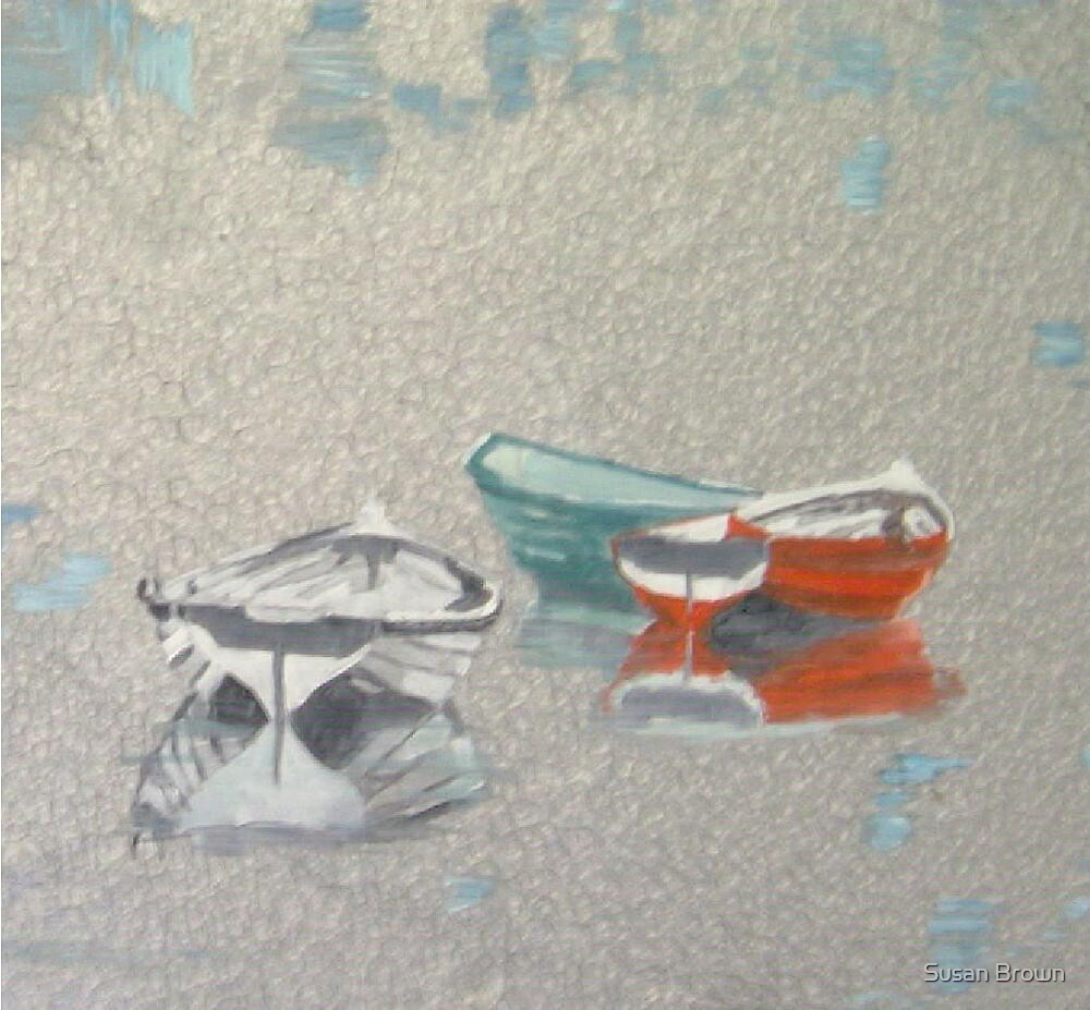 resting boats by Susan Brown