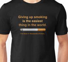 Giving Up Smoking Unisex T-Shirt