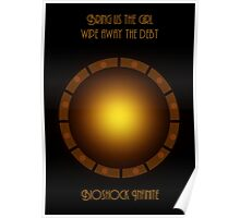 Bioshock infinite eye-bird Poster