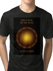 Bioshock infinite eye-bird Tri-blend T-Shirt