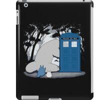 Totoro Dr Who iPad Case/Skin