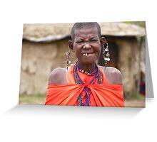 Masai Mara Beauty Greeting Card