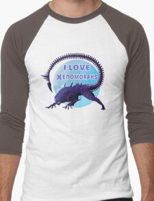 I love Xenomorphs Men's Baseball ¾ T-Shirt