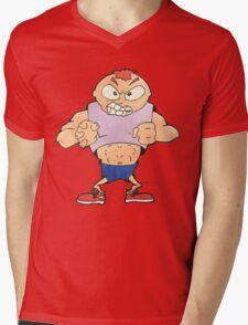 The Bully Mens V-Neck T-Shirt