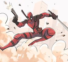 DEADPOOL by drawandestroy