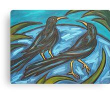 NIGHT BIRDS II Canvas Print
