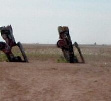 Cadillac Ranch by Zandra Denny