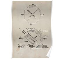 Measurement With Compass Line Leveling Albrecht Dürer or Durer 1525 0112 Repeating Shapes Poster
