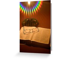 I see the light! Greeting Card