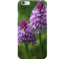 Pyramidal Orchids Wild Flowers iPhone Case/Skin
