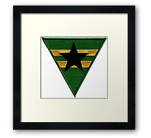 Firefly: Browncoat Logo (Patch) Framed Print