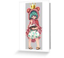 one piece doflamingo sugar anime manga shirt Greeting Card