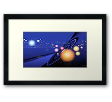 Love Universe Framed Print