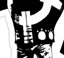 one piece bartholomew kuma anime manga shirt Sticker