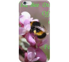 The Importance Of Bees iPhone Case/Skin