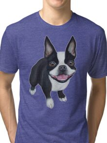 Boston Terrier Tri-blend T-Shirt