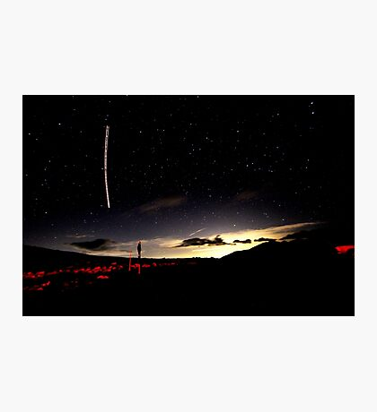 Perseid meteor shower Photographic Print