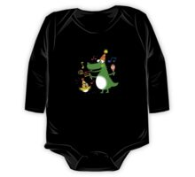 Funny party animals One Piece - Long Sleeve