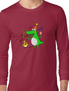 Funny party animals Long Sleeve T-Shirt