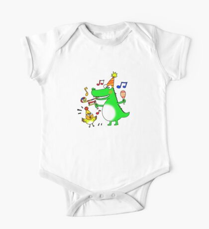 Funny party animals One Piece - Short Sleeve