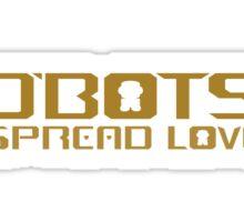 O'BOTS Spread Golden Love Sticker