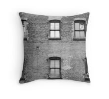Off by a Hair Throw Pillow