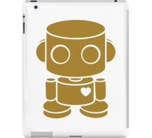 O'BOT: Love is Golden iPad Case/Skin