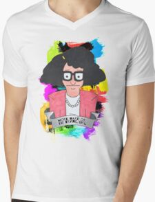 Tina Belcher  Working girl Mens V-Neck T-Shirt