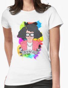 Tina Belcher  Working girl Womens Fitted T-Shirt