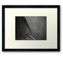 Floating Bridge 7 Framed Print