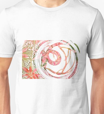 Glass Circle coloured pencil Unisex T-Shirt