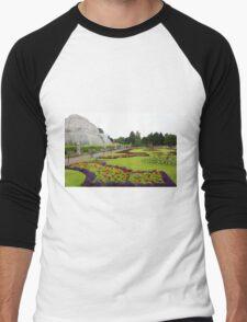 The Palm House at Kew Gardens Men's Baseball ¾ T-Shirt