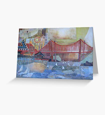 Enter that Golden Gate Greeting Card