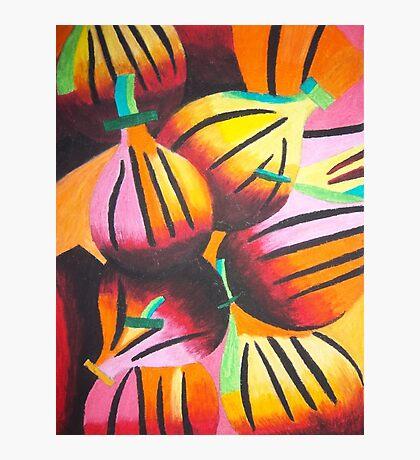 Passionfruit Photographic Print
