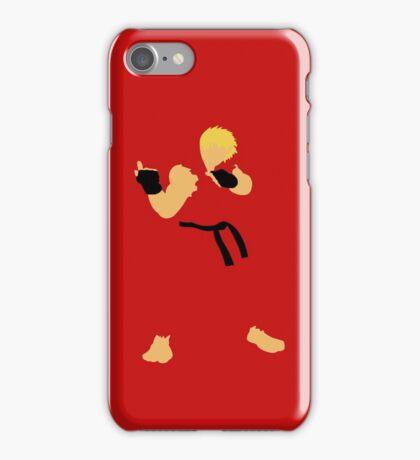 Ken - Street Fighter - Minimalist iPhone Case/Skin