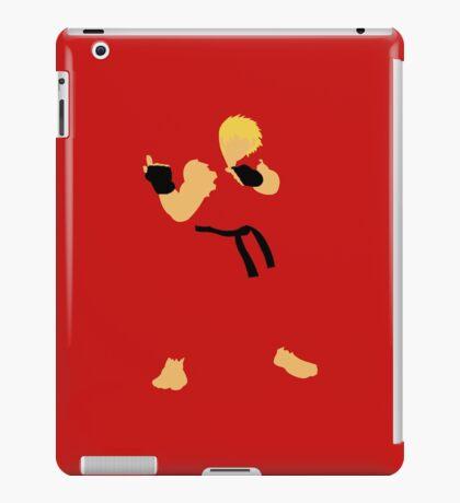 Ken - Street Fighter - Minimalist iPad Case/Skin