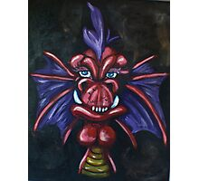 Roach the Red Dragon Photographic Print