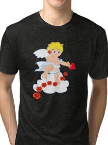 Cute cupid ready to shoot Tri-blend T-Shirt