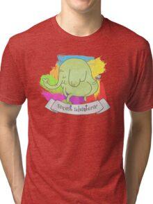 Tree trunks adventure time  Tri-blend T-Shirt