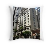 Building in LA Throw Pillow
