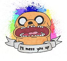 jake the dog  by laurajean1
