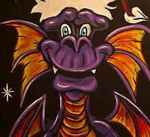 Grizelda the Christmas Dragon by gotmeamuse