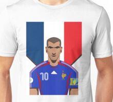 Zinadine Zidane Unisex T-Shirt