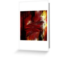 Furry red Greeting Card