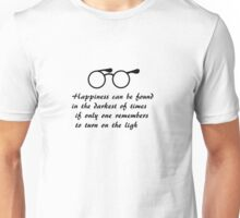 Happiness can be found... Unisex T-Shirt