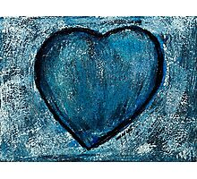Blue is blue Photographic Print