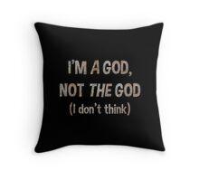 Bill Murray's a God Throw Pillow