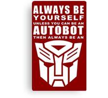 Always - Autobot Canvas Print